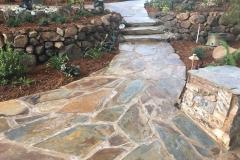 Ready-the-flagstone-patio-hardscape-in-Sacramento-CA-by-Romeros-Landscape-Inc-002