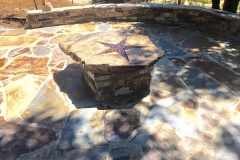 custom-made-fire-pits-cowboy-star-flagstone-patio-in-Sacramento-CA-by-Romeros-Landscape-Inc-001