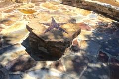 custom-made-fire-pits-cowboy-star-flagstone-patio-in-Sacramento-CA-by-Romeros-Landscape-Inc-002