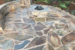 custom-made-fire-pits-with-flagstone-patio-in-Sacramento-CA-by-Romeros-Landscape-Inc