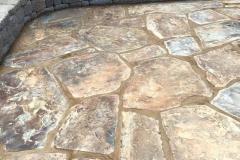 flagstone-patio-installation-in-Sacramento-CA-by-Romeros-Landscape-Inc