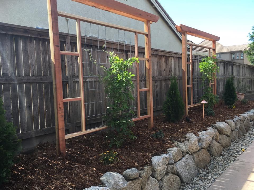 garden-wood-trellises-design-and-installation-in-Sacramento-CA-by-Romeros-Landscape-Inc-002