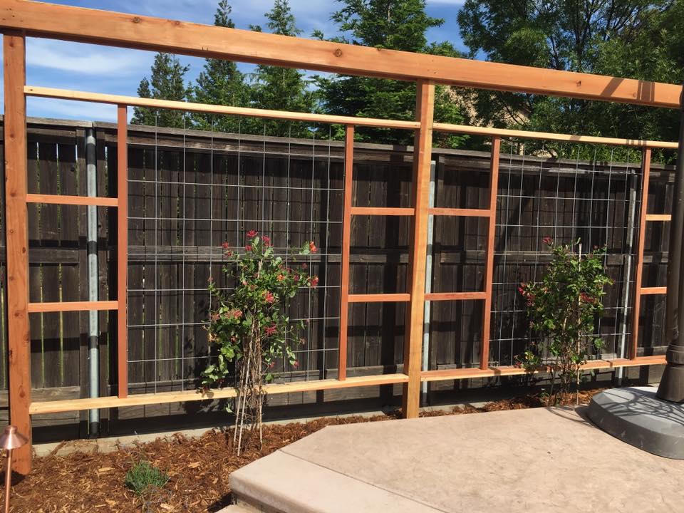 garden-wood-trellises-design-and-installation-in-Sacramento-CA-by-Romeros-Landscape-Inc